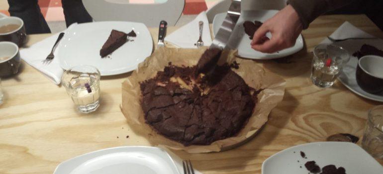 Death by Chocolate oder auch Tarte au Chocolate mit Chilie